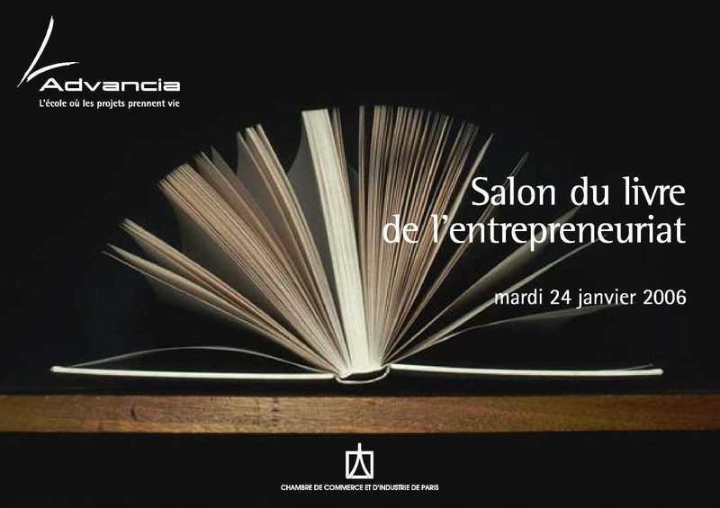 1er SALON DU LIVRE de l'entrepreneuriat (Entrepreneuriat ...